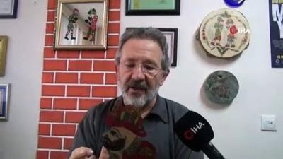 ekince -  Gölgenin efendisi...Bursalı hayâlî 20 yıldır gölge oyunlarına tasvir hazırlıyor