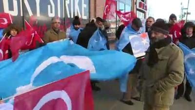 New York'ta Doğu Türkistan protestosu - NEW YORK