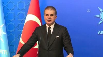Çelik: 'Türkiye'nin güvenlik kaygıları pazarlık konusu yapılacak kaygılar değildir' - ANKARA