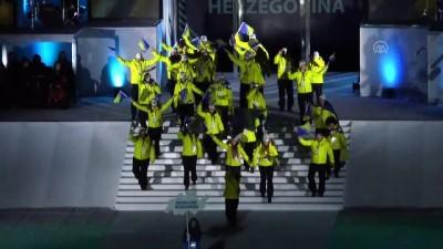 EYOF 2019 görkemli törenle Saraybosna'da başladı - SARAYBOSNA
