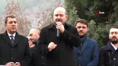 """- İçişleri Bakanı Süleyman Soylu:"""" PKK'yı başımıza musallat ettiler. FETÖ'yü başımıza musallat ettiler"""""""