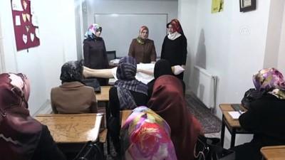 cansiz manken - Kadınlara yönelik 'Cenaze Hizmetleri Kursu' - DİYARBAKIR