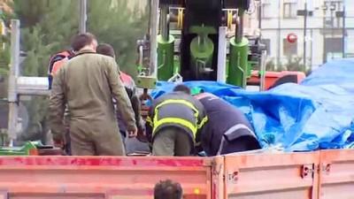 askeri helikopter -  Çekmeköy'de düşen askeri helikopterin enkazı kaldırıldı