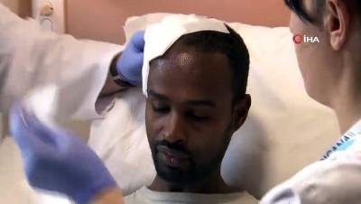 beyin kanamasi -  Etiyopya'dan geldi Bursa'da sağlığına kavuştu
