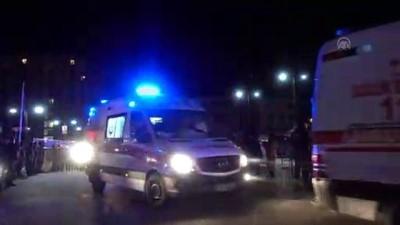 askeri helikopter - İstanbul'da askeri helikopterin düşmesi