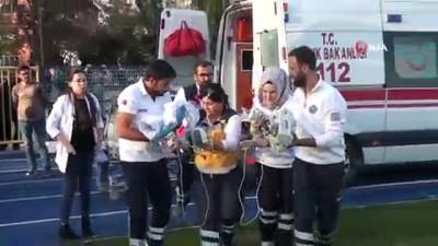 askeri helikopter -  Mehmetçik, 6 aylık bebeği helikopter ile hastaneye ulaştırdı