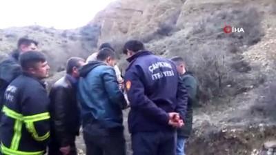 helikopter -  Dağın yamacında mahsur kalan köpeği kurtarmak için AFAD'dan helikopter talep edilecek