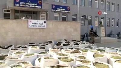elektrik kablosu -  Diyarbakır'ın Lice İlçesi'nde dün yapılan operasyonlarda 5 ton uyuşturucu ele geçirildi