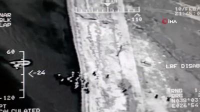 Kuşadası Körfezi'nde 118 kaçak göçmen böyle yakalandı