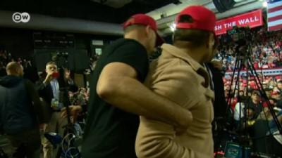 Trump'ın mitingi sırasında BBC kameramanına saldırı