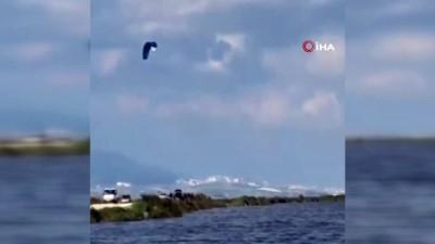 amator -  Göle dönen Amik Ovası'nda surf yaptılar