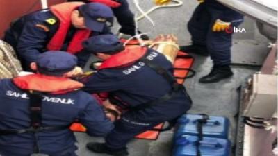 ilk mudahale -  Sahil Güvenlik ekipleri,Silivri'de rahatsızlanan vatandaşın yardımına koştu