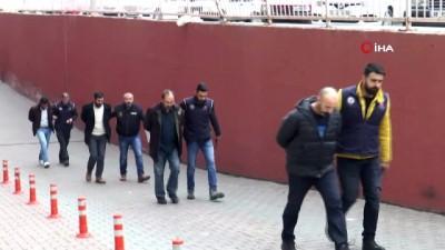 adli kontrol -  4 PKK şüphelisi adliyeye sevk edildi