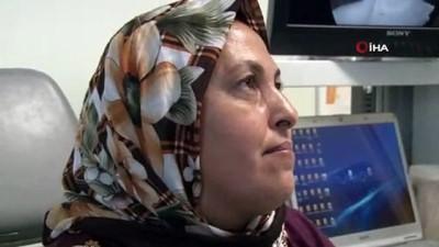 Ameliyat sonrası ses telleri felç olan kadının 90 günlük sessizliği sona erdi