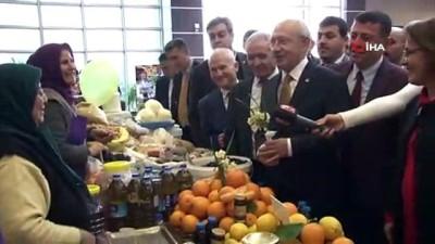Kılıçdaroğlu, Sokak Ekonomisi Çalıştayına katıldı