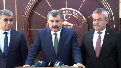Sağlık Bakanı Fahrettin Koca:'Mevsimsel grip salgını dışında özel bir salgın durumu yok'