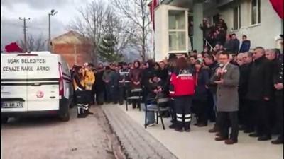 Şehit polis memuru için Banaz'da tören düzenlendi - UŞAK