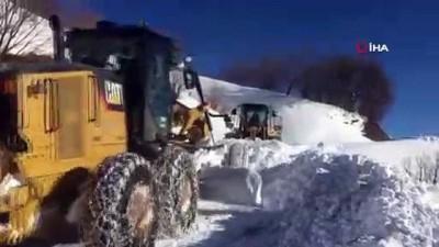 Siirt'te kar nedeniyle kapanan 25 köy yolu için çalışma başlatıldı