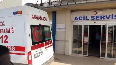 helikopter - Yaşlı kadın ambulans helikopterle Sivas'a sevk edildi - SİVAS