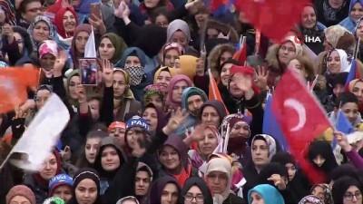 """Cumhurbaşkanı Erdoğan: """"Ataşehir'de çalışkan, tecrübeli, projeleri olan Başkanımızı aday yaptık"""""""