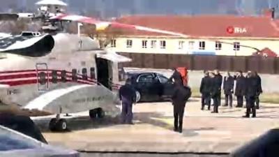 helikopter -  Cumhurbaşkanı Erdoğan, helikopterle Edirne'ye gitti