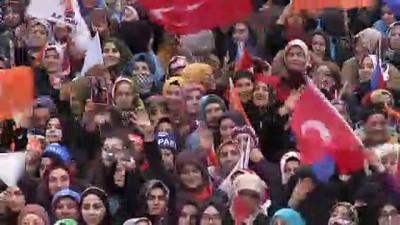 mufettis - Erdoğan: 'CHP, Ataşehir'de müfettişlerce pek çok yolsuzluğu tespit edildiği için görevden el çektirilen birini aday gösterdi' - İSTANBUL