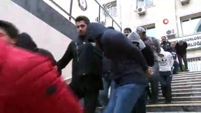 İstanbul'daki fuhuş operasyonunda yakalanan 20 şüpheli tutuklandı