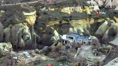 İYİ Parti Başkan adayı otelinin yıkılmaması için yolu kapattı - Kaçak yapısı yıkılmasın diye yolu kapattı