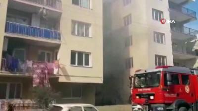 yangina mudahale -  İzmir'de korkutan yangın