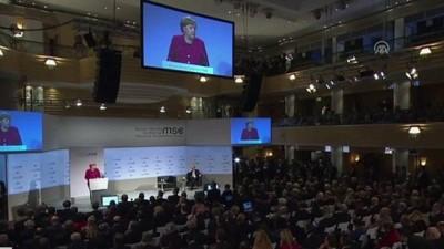 Merkel'den ABD'ye cevap - MÜNİH