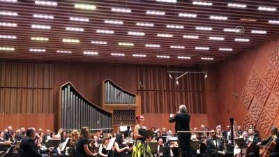 piyanist - Piyanist Gülsin Onay, CSO sahnesinde konser verdi - ANKARA