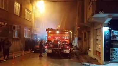 yangina mudahale - Sinop'ta ev yangını