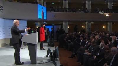 55. Uluslararası Münih Güvenlik Konferansı - İran Dışişleri Bakanı Zarif - MÜNİH