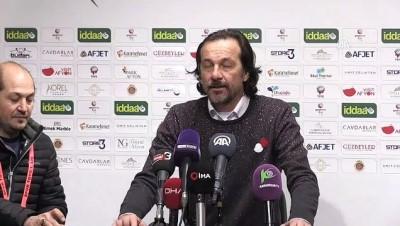 Afjet Afyonspor-Giresunspor maçının ardından - AFYONKARAHİSAR