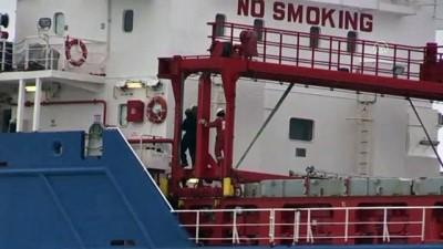 kuru yuk gemisi - Karaya oturan kuru yük gemisi - KOCAELİ