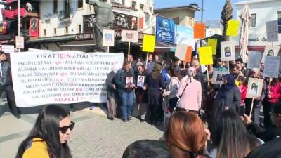 alkollu surucu - Yakınlarını trafik kazasında kaybedenlerden protesto - ANTALYA