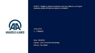 46 düzensiz göçmen yakalandı - MUĞLA