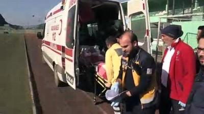 helikopter - Ambulans helikopter solunum hastası için havalandı - ZONGULDAK