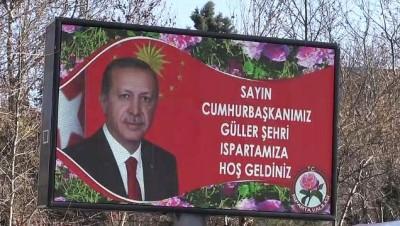 helikopter - Cumhurbaşkanı Erdoğan, AK Parti mitingine katıldı - detaylar - ISPARTA