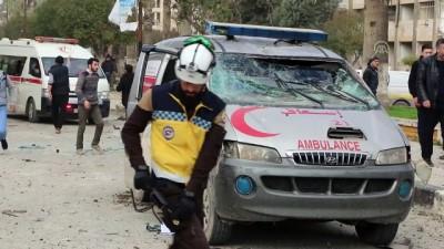 rejim karsiti - İdlib'de art arda iki bombalı saldırı - İDLİB