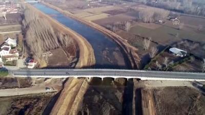 Kanal Edirne bu yıl hizmete alınacak (DRONE) - EDİRNE