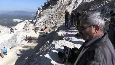 Maden sahasında heyelan (10) - Bir işçinin cansız bedenine ulaşıldı - MUĞLA