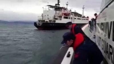 Yabancı bandıralı geminin yaralanan mürettebatı tedavi edildi - BALIKESİR