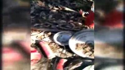Şırnak'ta teröristlere ait 6 sığınak böyle imha edildi