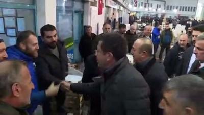 Dışişleri Bakanı Çavuşoğlu: 'Hem belediyeciliği hem dünyayı çok iyi biliyor' - İZMİR