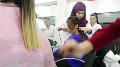 kuafor salonu - Diyarbakırlı kadınlara ücretsiz güzellik kursu