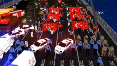 ogretmenler -  15 Temmuz gecesine özel animasyon