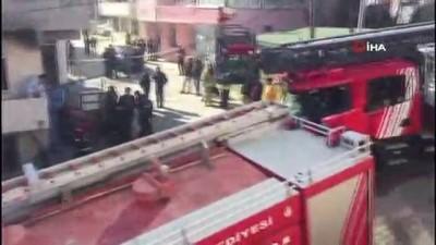 gaz sizintisi -  Büyükçekmece'de patlama: 1 ölü
