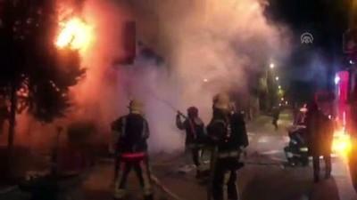 yangina mudahale - Denizli'de iş yeri yangını