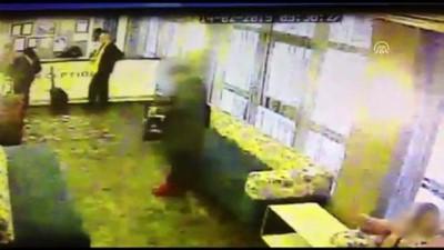 guvenlik kamerasi - Otelden hırsızlık anı kamera kayıtlarına yansıdı - İSTANBUL